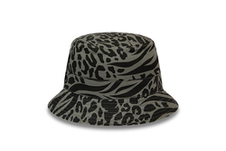 12380834 PATTERNED REVERSEABLE BUCKET NE BLK - Thumbnail