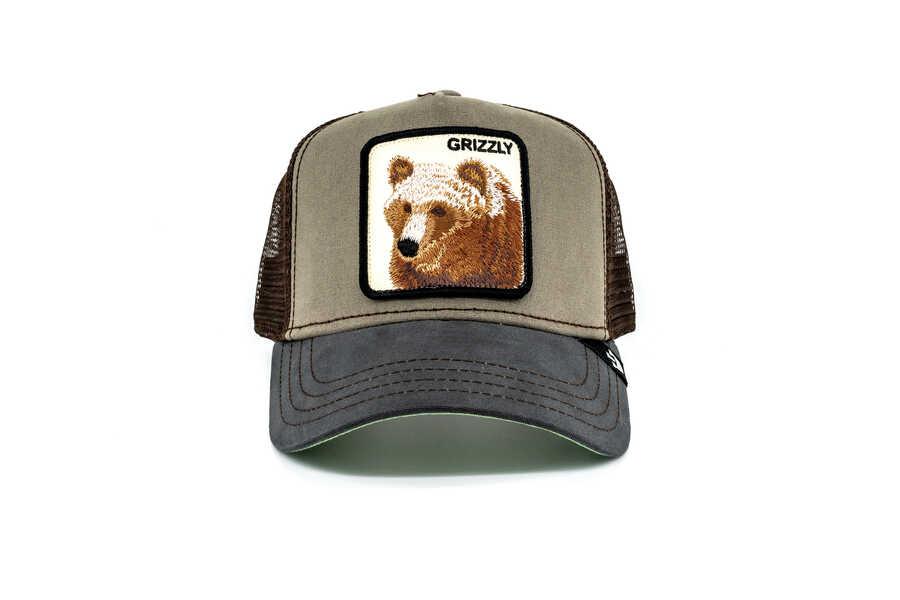 Goorin Bros Grizz (Boz Ayı Figürlü) Şapka