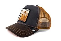 Goorin Bros Grizz (Boz Ayı Figürlü) Şapka - Thumbnail