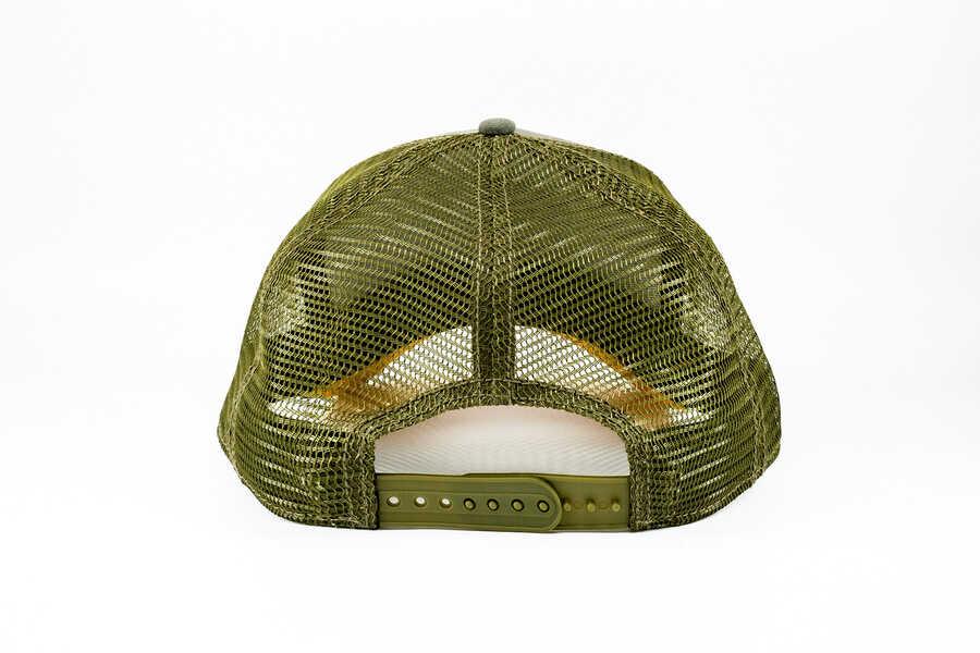 Goorin Bros Rack (Geyik Figürlü) Yeşil Şapka