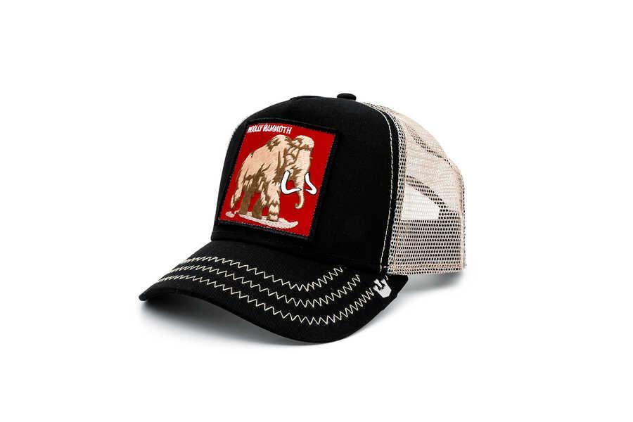 Goorin Bros - Goorin Bros. 6 Tons ( Mamut Figür) Siyah Şapka (1)