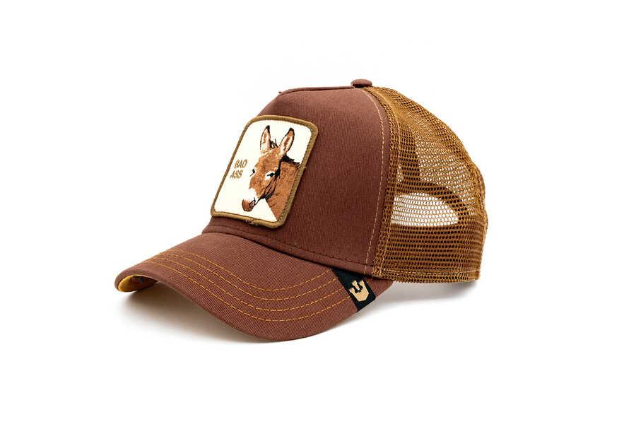 Goorin Bros - Goorin Bros Bad Ass (Eşek) Kahverengi Şapka (1)