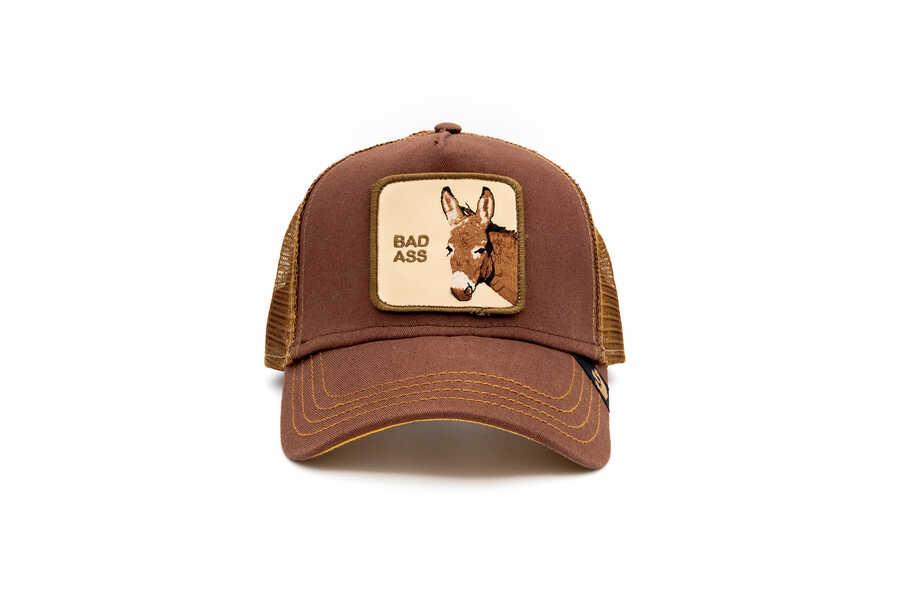 Goorin Bros - Goorin Bros Bad Ass (Eşek) Kahverengi Şapka