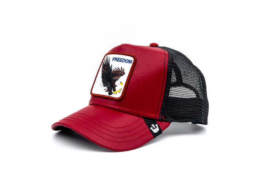 Goorin Bros - Goorin Bros Big Bird (Kartal Figürlü) Kırmızı Şapka (1)