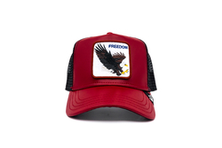Goorin Bros - Goorin Bros Big Bird (Kartal Figürlü) Kırmızı Şapka (Thumbnail - )