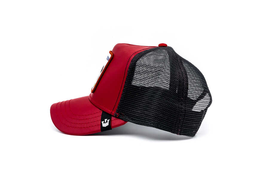 Goorin Bros Big Bird (Kartal Figürlü) Kırmızı Şapka