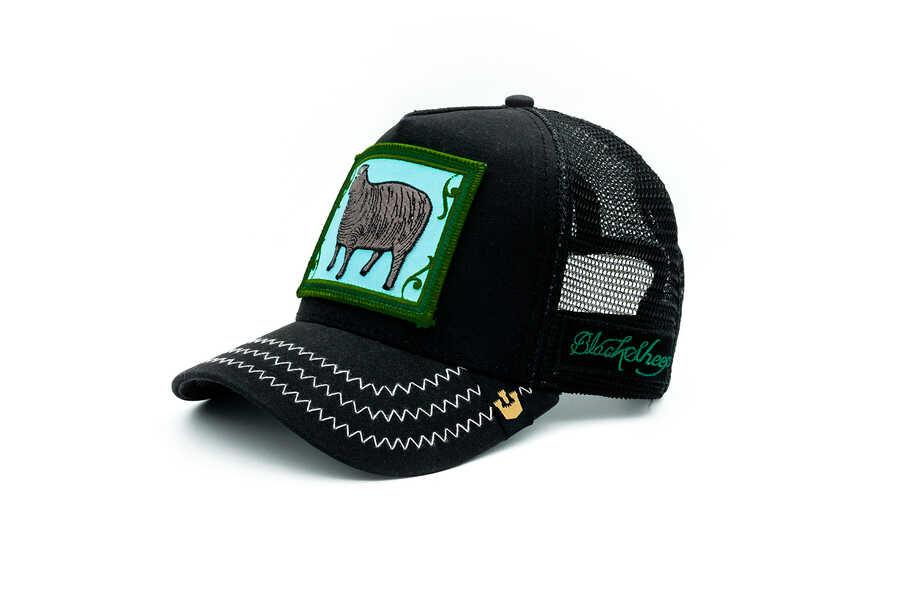 Goorin Bros - Goorin Bros Black Sheep (Koyun Figür) Şapka (1)