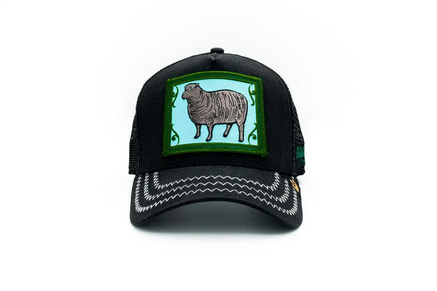 Goorin Bros - Goorin Bros Black Sheep (Koyun Figür) Şapka