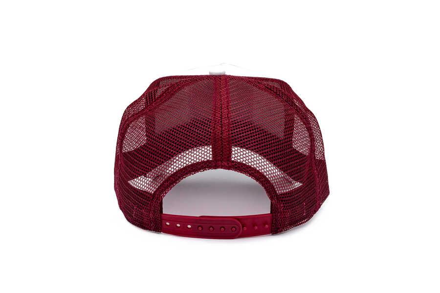 Goorin Bros Bonkers ( Sincap Figürlü ) Beyaz 601-9406 Şapka