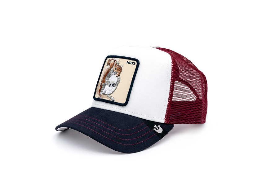 Goorin Bros - Goorin Bros Bonkers ( Sincap Figürlü ) Beyaz 601-9406 Şapka (1)