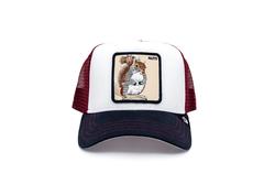 Goorin Bros - Goorin Bros Bonkers ( Sincap Figürlü ) Beyaz 601-9406 Şapka (Thumbnail - )