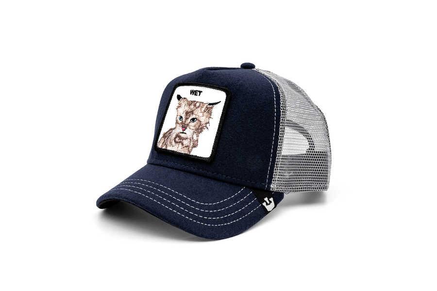 Goorin Bros - Goorin Bros Clean Cat ( Kedi Figürlü) Lacivert Şapka (1)