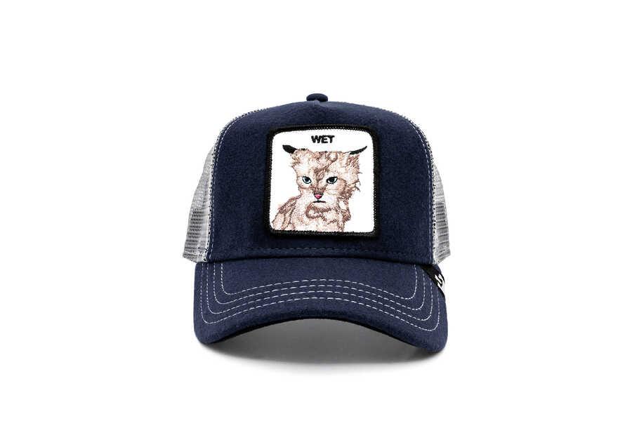 Goorin Bros - Goorin Bros Clean Cat ( Kedi Figürlü) Lacivert Şapka