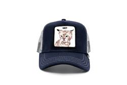 Goorin Bros - Goorin Bros Clean Cat ( Kedi Figürlü) Lacivert Şapka (Thumbnail - )