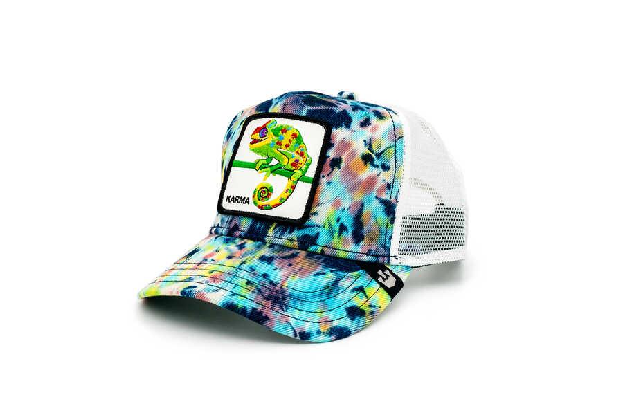 Goorin Bros - Goorin Bros Culture Chameleon ( Bukelemun Figür) Desenli Şapka 101-0869 (1)