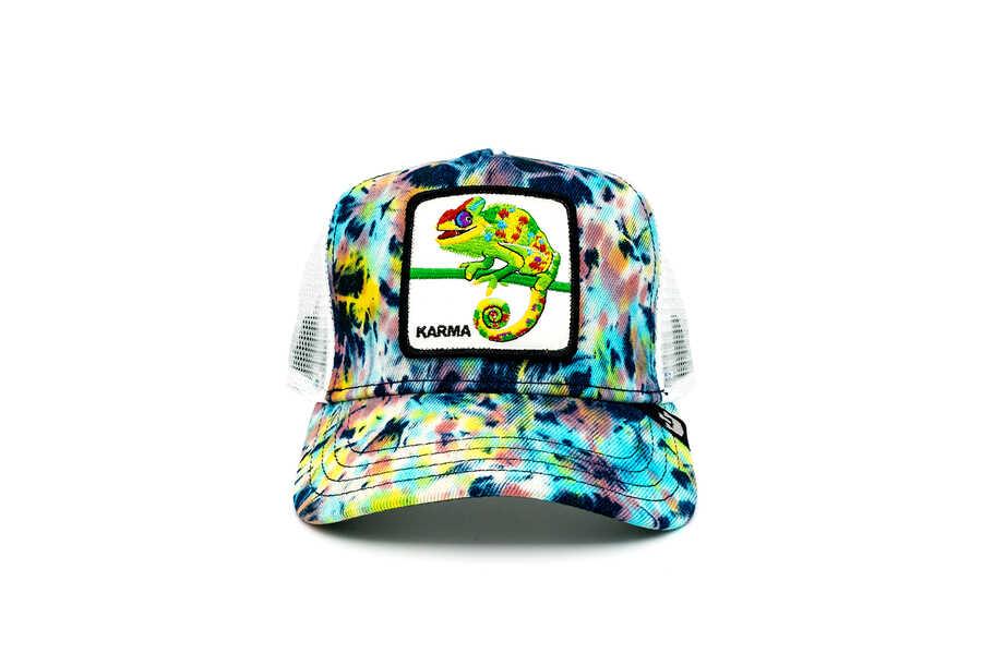 Goorin Bros - Goorin Bros Culture Chameleon ( Bukelemun Figür) Desenli Şapka 101-0869