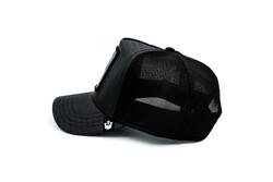 Goorin Bros Deadly Encounter ( Karadul Örümcek Figürlü ) Deri Görünümlü Şapka 101-0821 - Thumbnail