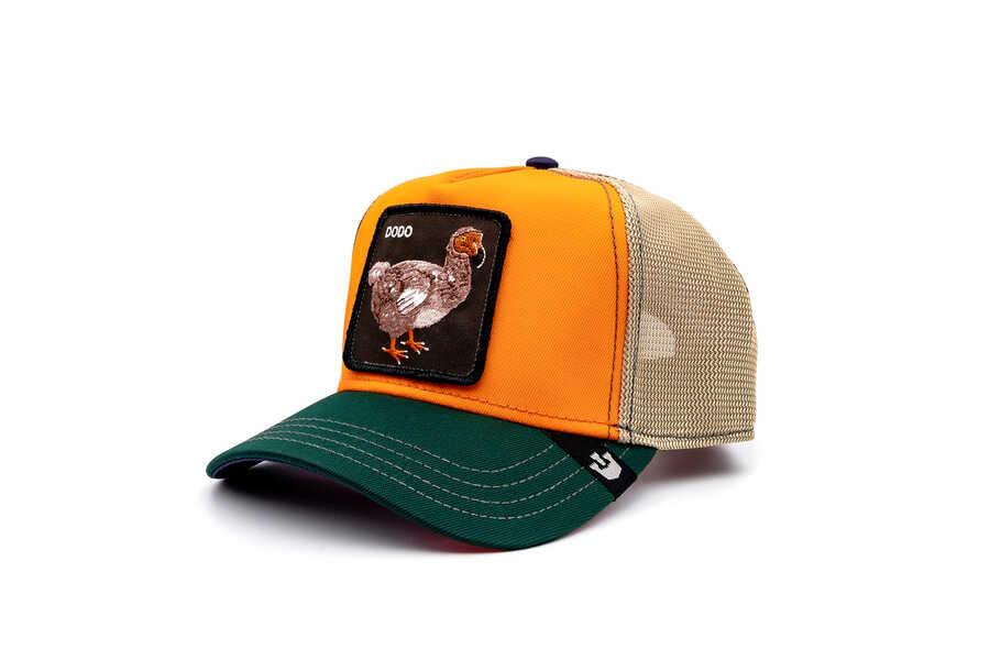 Goorin Bros - Goorin Bros Fasho Dodo Kuş Figürlü Oranj Şapka (1)