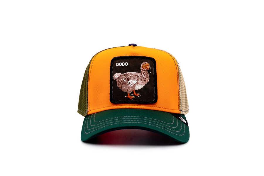 Goorin Bros - Goorin Bros Fasho Dodo Kuş Figürlü Oranj Şapka