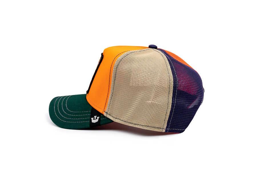 Goorin Bros Fasho Dodo Kuş Figürlü Oranj Şapka