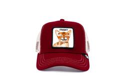 Goorin Bros - Goorin Bros Frisky Whisky ( Kedi Figürlü ) Kırmızı Şapka 101-0834 (Thumbnail - )