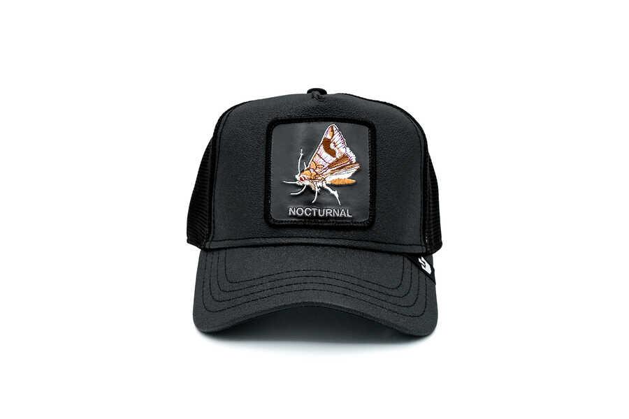 Goorin Bros - Goorin Bros Gimme The Light ( Kelebek Figürlü) Deri Görümlü Şapka 101-0824