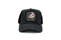 Goorin Bros - Goorin Bros Gimme The Light ( Kelebek Figürlü) Deri Görümlü Şapka 101-0824 (Thumbnail - )