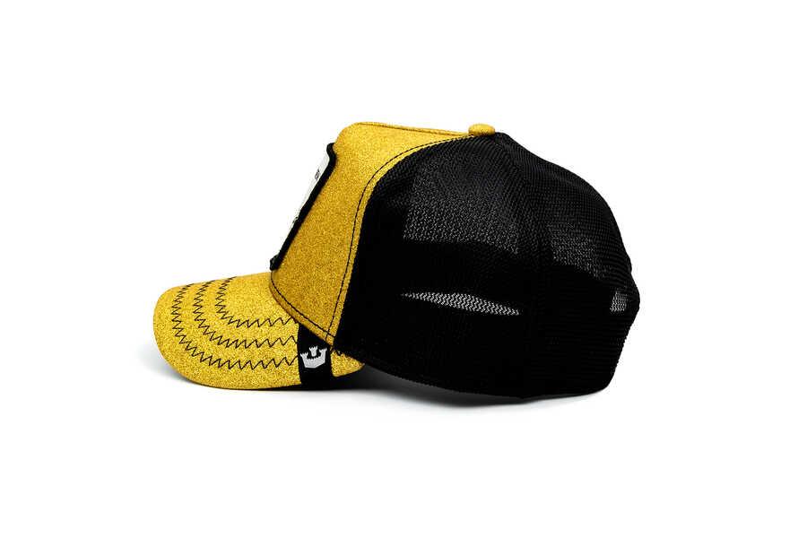Goorin Bros Golden Egg Altın Simli Şapka