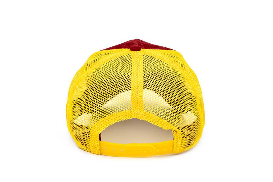 Goorin Bros Hot Cheetah ( Kaplan Figürlü) Deri Görünümlü Şapka 101-0871