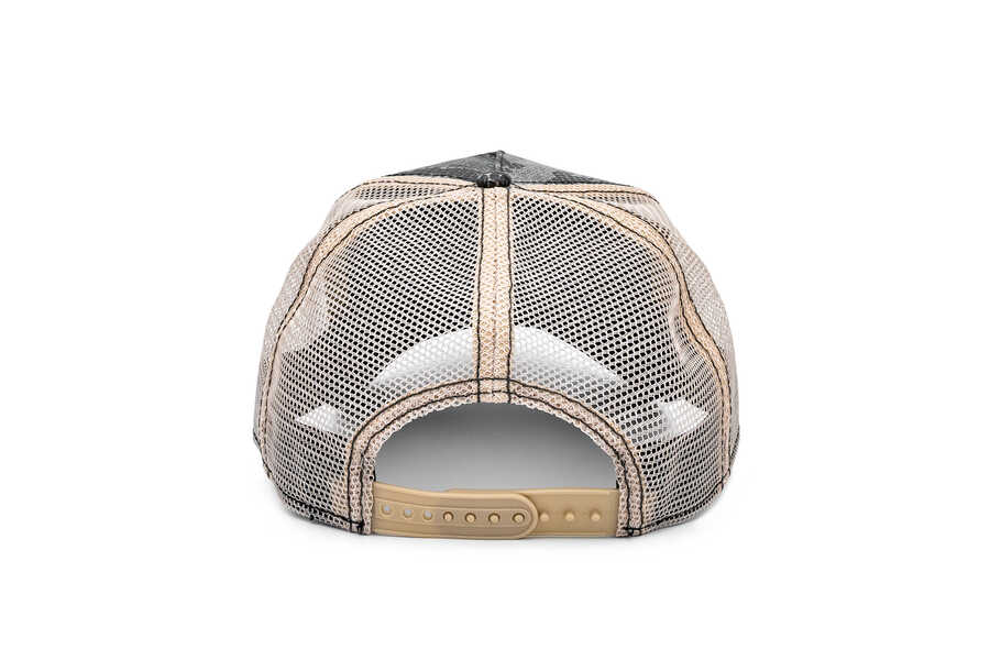 Goorin Bros Margaritaville ( Papağan Figürlü ) Deri Görünümlü Şapka 101-0868