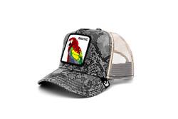 Goorin Bros Margaritaville ( Papağan Figürlü ) Deri Görünümlü Şapka 101-0868 - Thumbnail
