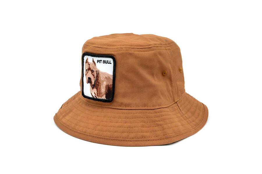 Goorin Bros - Goorin Bros Misunderstood ( Pitbull ) Kahverengi Bucket 105-0209 (1)