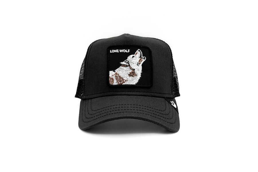 Goorin Bros - Goorin Bros Moon Lover (Kurt Figür) Siyah Şapka
