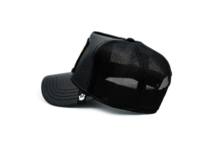 Goorin Bros Night Viper ( Yılan Figürlü) Deri Görünümlü Şapka 101-0823