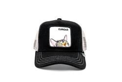 Goorin Bros - Goorin Bros Peek A Boo ( Kedi Figürlü) Siyah Şapka (Thumbnail - )