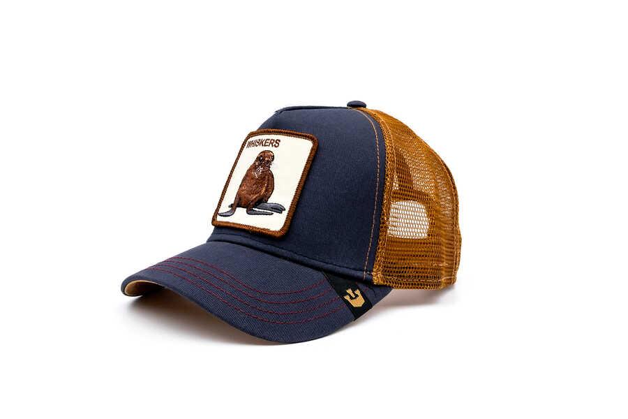 Goorin Bros - Goorin Bros Sea Dog (Fok Figürlü) Lacivert Şapka (1)