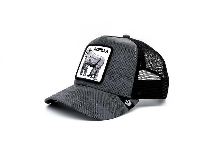Goorin Bros - Goorin Bros Silverback ( Goril ) Siyah Şapka 101-2678 (1)