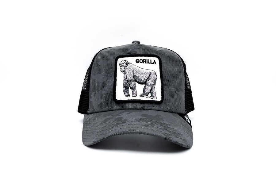 Goorin Bros - Goorin Bros Silverback ( Goril ) Siyah Şapka 101-2678