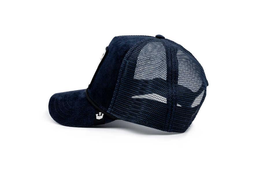 Goorin Bros Tiger Rage Lacivert Kadife Şapka