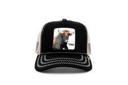 Goorin Bros - Goorin Bros Thatt's Bull ( Boğa Firgürlü) Siyah Şapka 101-1220 (Thumbnail - )