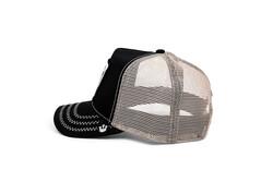 Goorin Bros Thatt's Bull ( Boğa Firgürlü) Siyah Şapka 101-1220 - Thumbnail