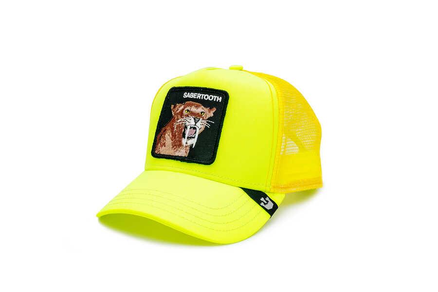 Goorin Bros - Goorin Bros Tootache ( Kaplan Figürlü) Sarı Şapka 101-0941 (1)