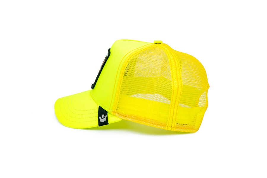 Goorin Bros Tootache ( Kaplan Figürlü) Sarı Şapka 101-0941