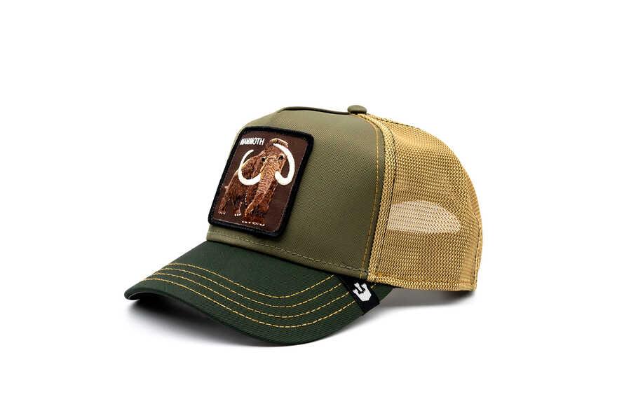 Goorin Bros - Goorin Bros Wooly Mammoth (Mamut) Yeşil Şapka (1)