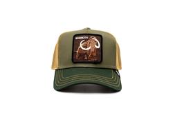 Goorin Bros - Goorin Bros Wooly Mammoth (Mamut) Yeşil Şapka (Thumbnail - )